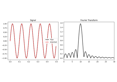 pylops signalprocessing FFT2D — PyLops